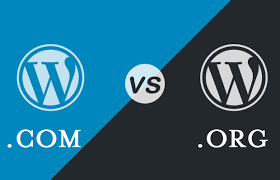 wordpress.com vs wordpress,org