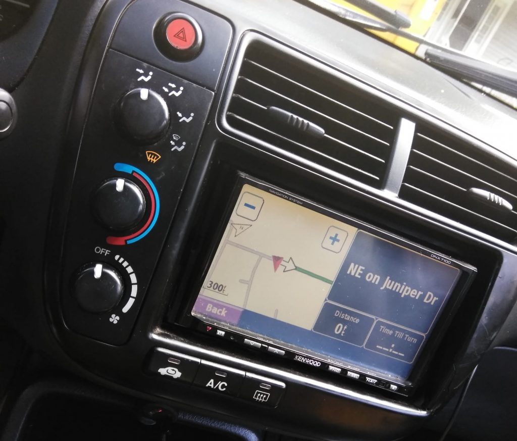 What are the applications of GPS in the Automotive Industry